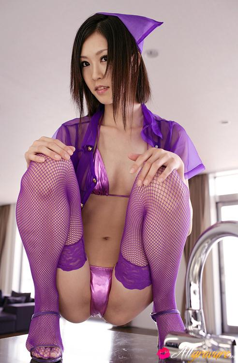 hot kinky asian - Kotone Amamiya Asian looks so hot in mauve kinky nurse uniform - Japarn porn  pics at