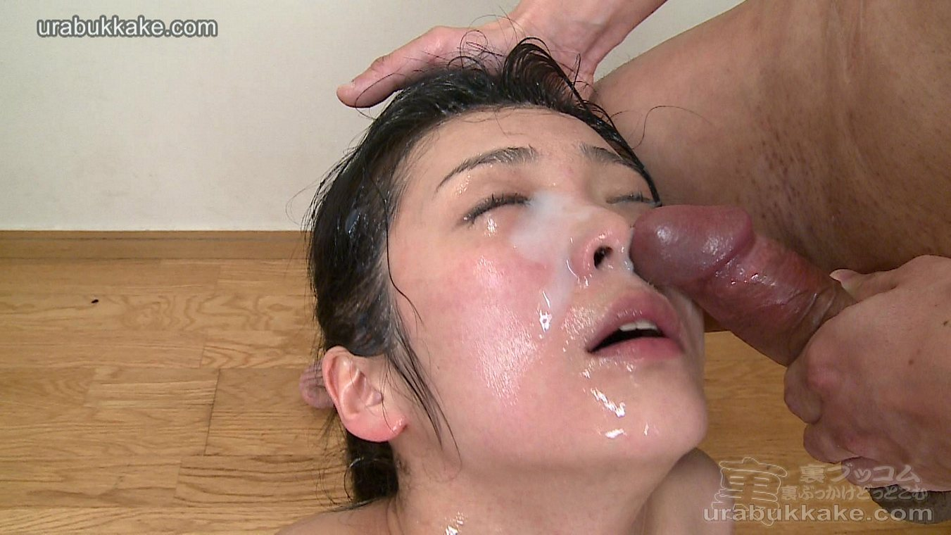 Two women cum on their face