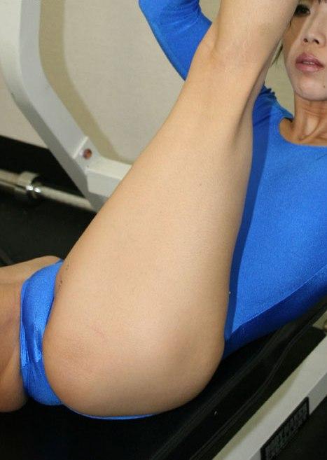 Japanese spandex porn pity