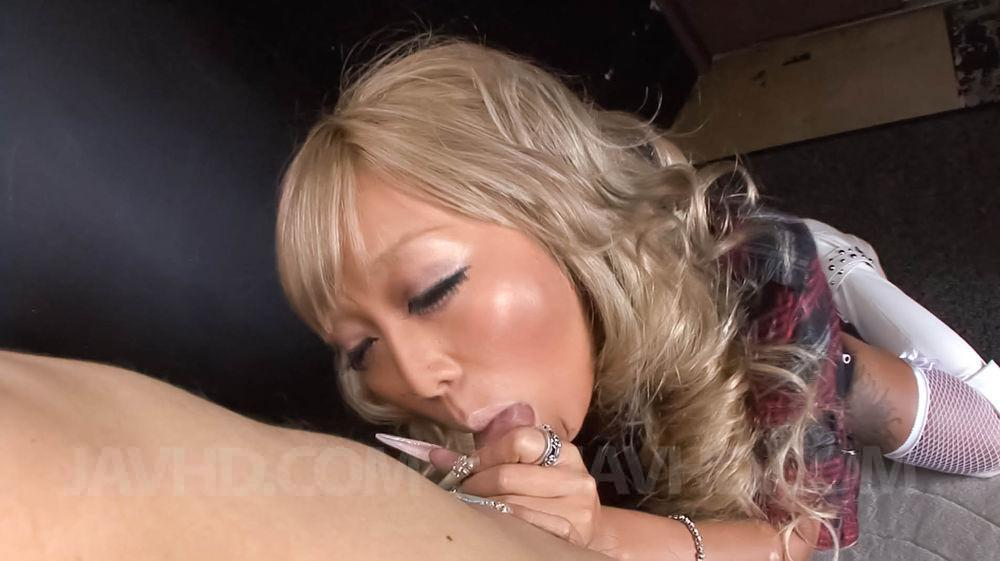 Interracial asian porn double
