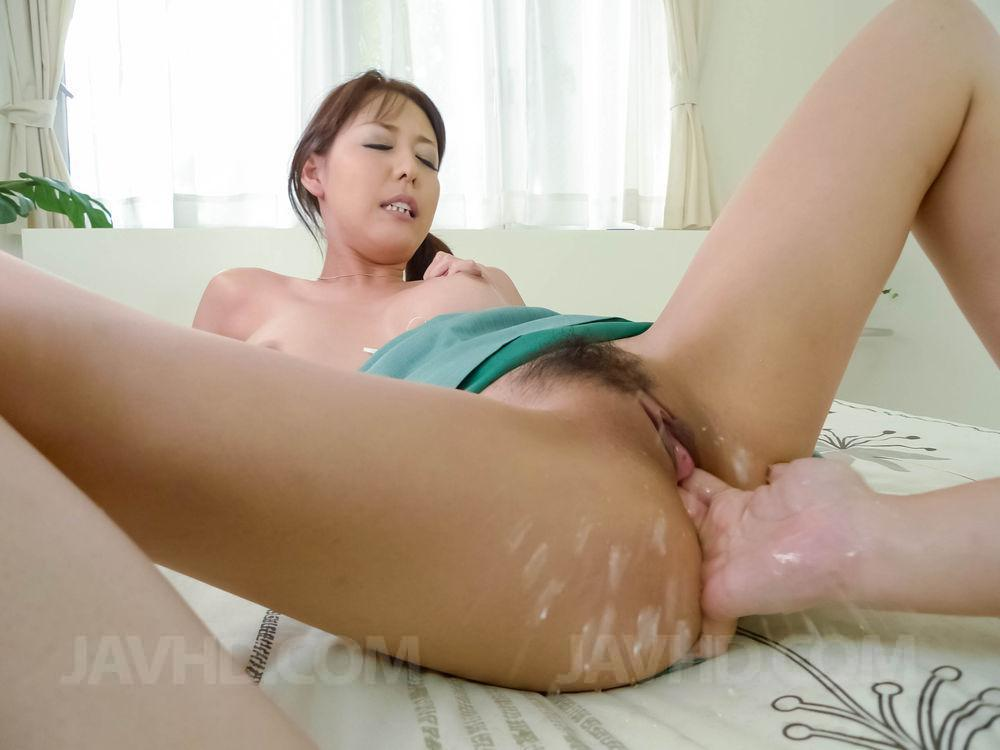 Chinese pussy filled with cum for that