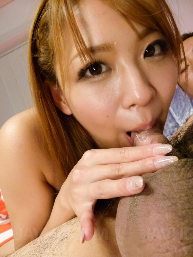 asian open mouth pov -