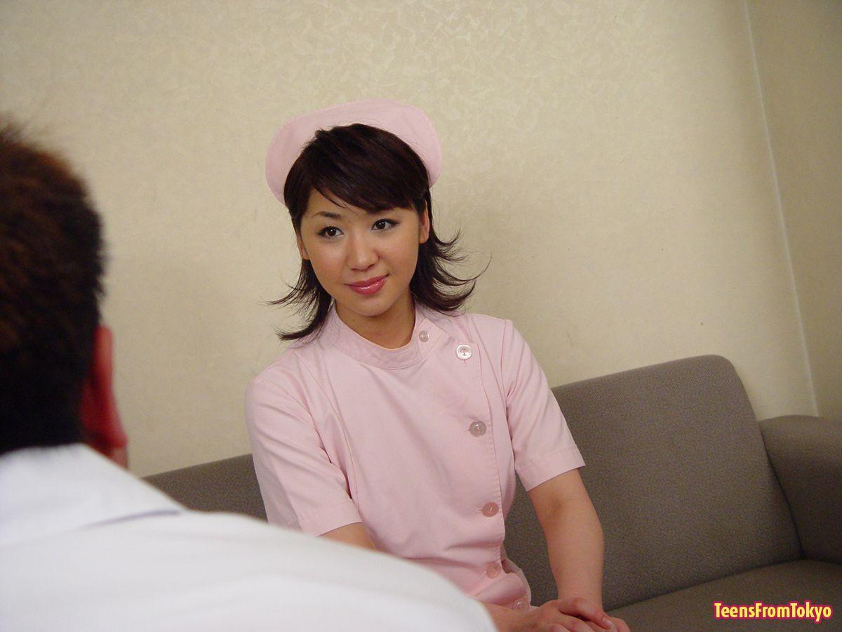 Hairy Japanese Teen Receives 14