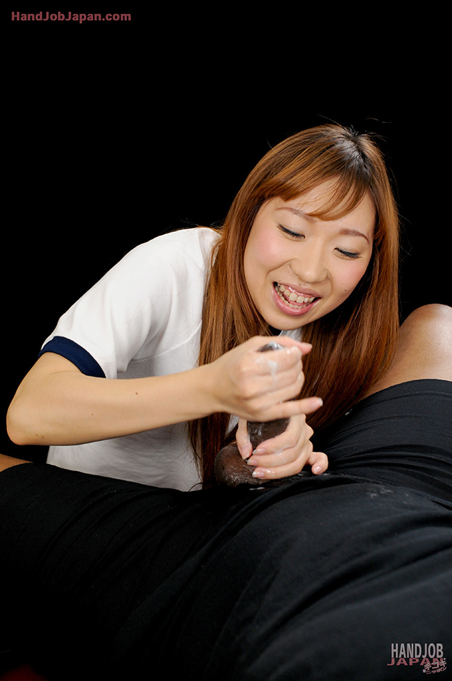 Speaking, would Asian girl gives teasing handjob something is
