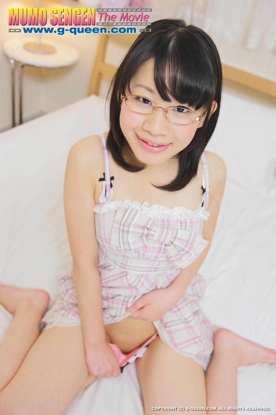 shy japanese girl